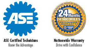 ASE and NAPA Certified